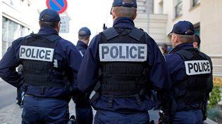 Policiers à Paris (Photo d'illustration) (CHARLES PLATIAU / REUTERS)