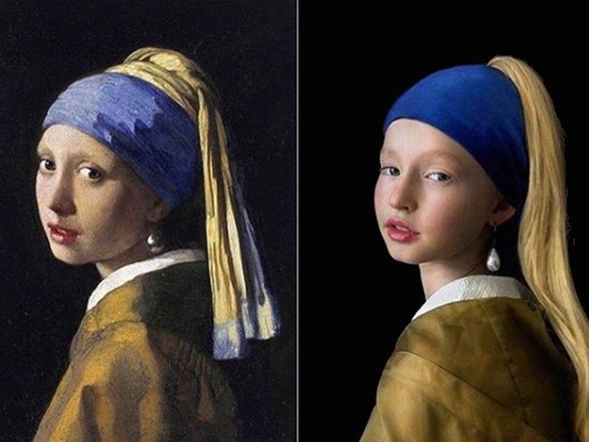 Confinement Sur Instagram Les Internautes S Amusent A Reproduire Des œuvres D Art En Photos