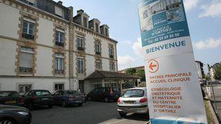 La maternité d'Orthez (Pyrénées-Atlantiques), le 11 septembre 2014. (  MAXPPP)