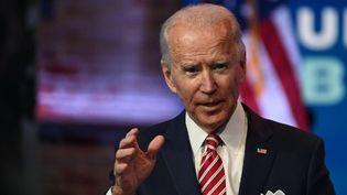 Joe Biden, àWilmington, dans le Delaware, le 16 novembre 2020. (ROBERTO SCHMIDT / AFP)