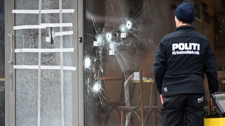 (Le centre culturel attaqué samedi après-midi à Copenhague © Maxppp)