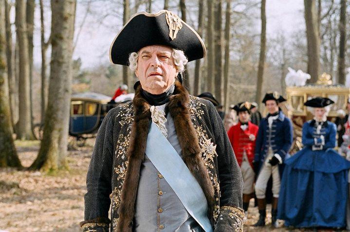 Rip Torn en 2006 dans le rôle de Louis XV dans Marie-Antoinettede Sofia Coppola. (ARCHIVES DU 7EME ART)