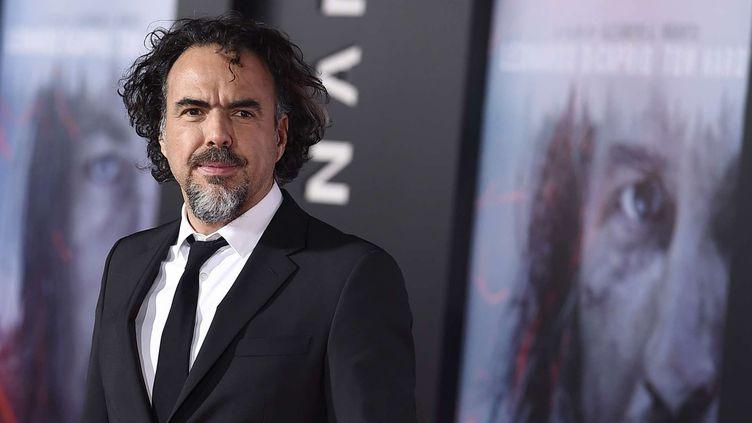 """Alejandro Inarritu le 16 décembre 2015, lors de la première mondiale de son film """"The Revenant"""" à Los Angeles.  (Jordan Strauss/AP/SIPA)"""