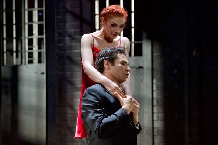 """Patricia Petibon et Frédéric Antoun dans """"Manon"""" (Stefan Brion)"""
