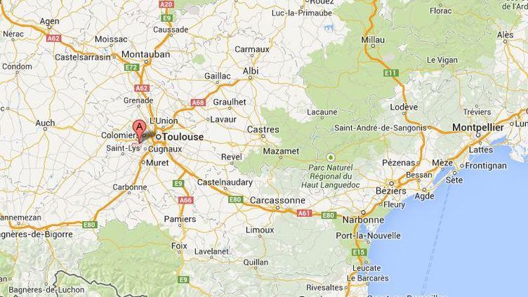 Un homme a pénétré dans une école à Plaisance-du-Touch (Haute-Garonne) vendredi 15 novembre 2013, où il a tenté de prendre en otage un enfant de 9 ans. ( GOOGLE MAPS / FRANCETV INFO )