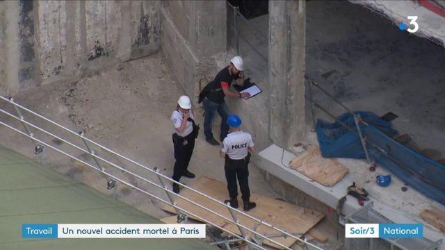 Paris : un nouvel accident de chantier fait un mort
