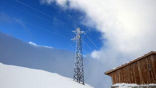RTE met en garde contre un risque de coupures d'électricité liées au froid le ,8 janvier 2021. (FRANCK FIFE / AFP)
