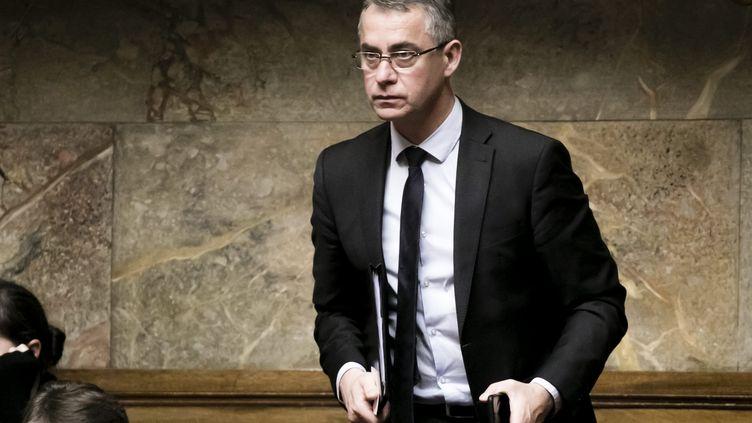 Jean-Michel Jacques, député La République en marche, le 19 décembre 2018 à l'Assemblée nationale. (VINCENT ISORE / MAXPPP)