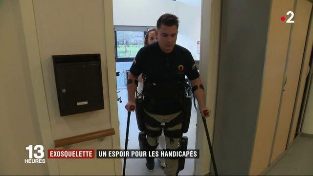 Handicap : un exosquelette pour remarcher