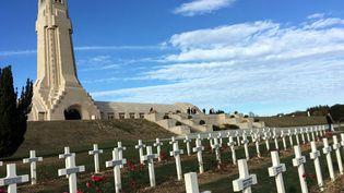 L'ossuaire de Douaumont près de Verdun (Meuse). (SYLVIE DUCHESNE / RADIO FRANCE)