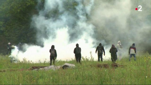 Notre-Dame-des-Landes : reprise des affrontements