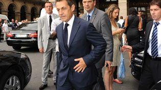 Nicolas Sarkozy le 28 juin 2012 à Paris. (CONTRE JOUR / SIPA)