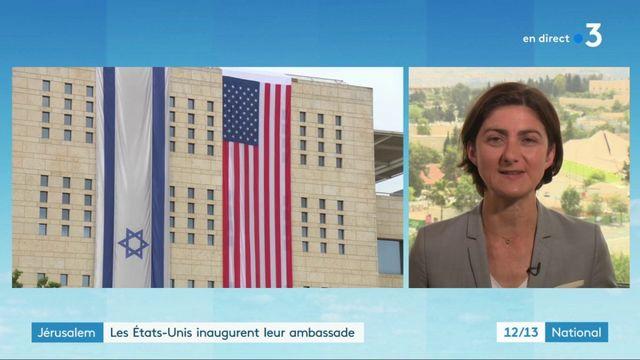Israël : tension autour de l'installation de l'ambassade américaine à Jérusalem