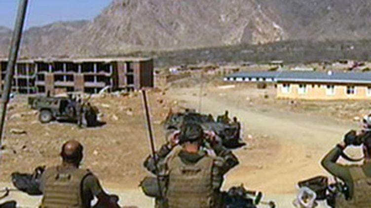 Militaires français en Afghanistan (© France 2)