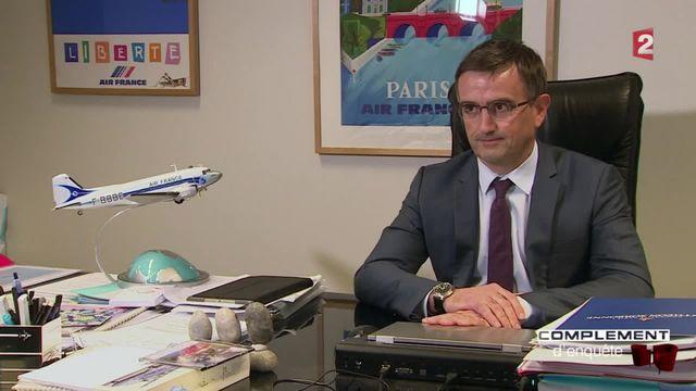 Complément d'enquête. Le DRH d'Air France agressé s'exprime pour la première fois la télévision