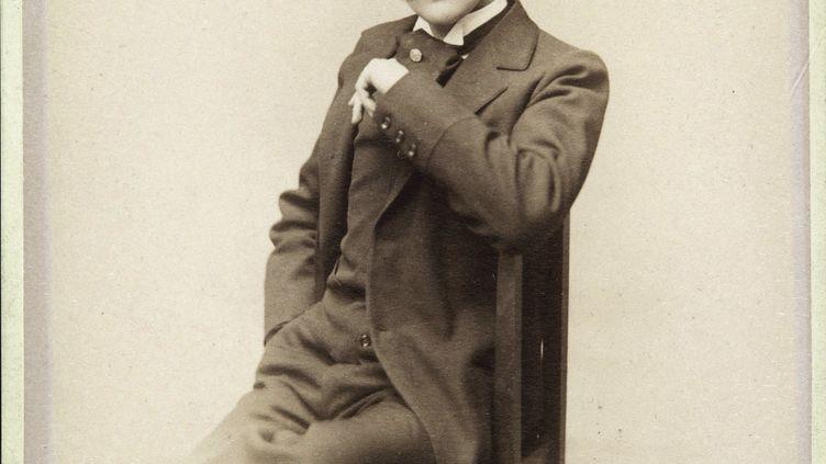 Marcel Proust, photographié en 1895, collection privée. (LEEMAGE VIA AFP)