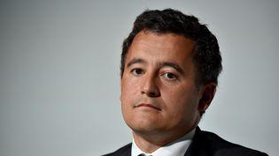 Le ministre de l'Action et des comptes publics, Gérald Darmanin, le 30 août 2017 à Jouy-en-Josas (Yvelines). (ERIC PIERMONT / AFP)
