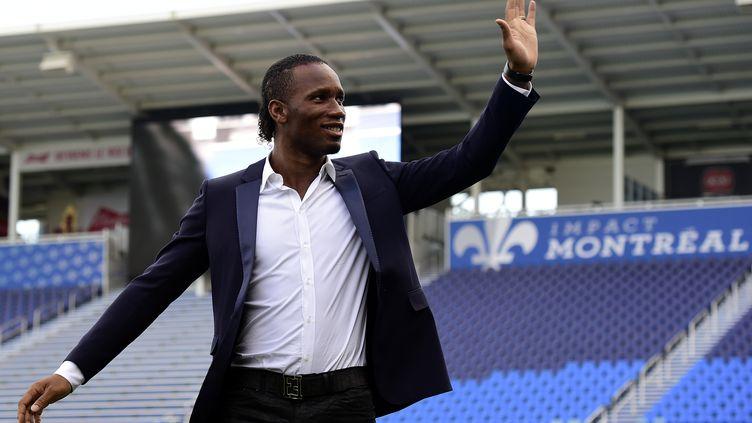 Didier Drogba est arrivé en fin de contrat le 1er janvier dernier après 18 mois passés au sein de l'Impact de Montréal en MLS. (FRANCK FIFE / AFP)
