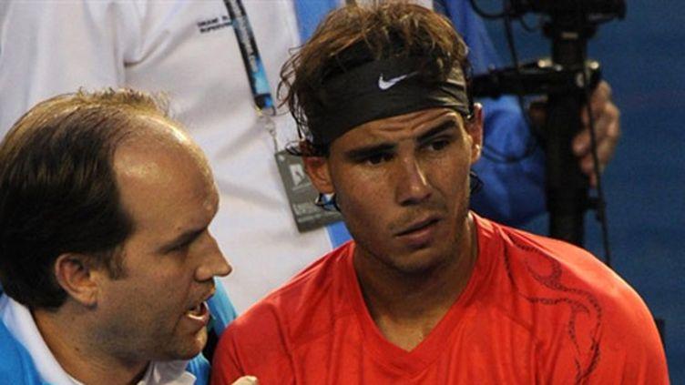 Rafael Nadal a fait appel au médecin de l'Open d'Australie
