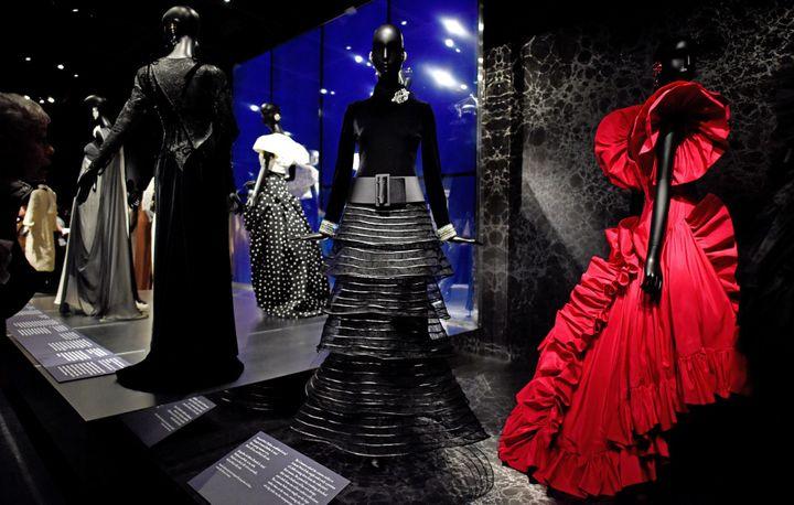 Exposition Jacqueline de Ribes: The Art of Style au Met de New York  (JUSTIN LANE/EPA/MaxPPP)
