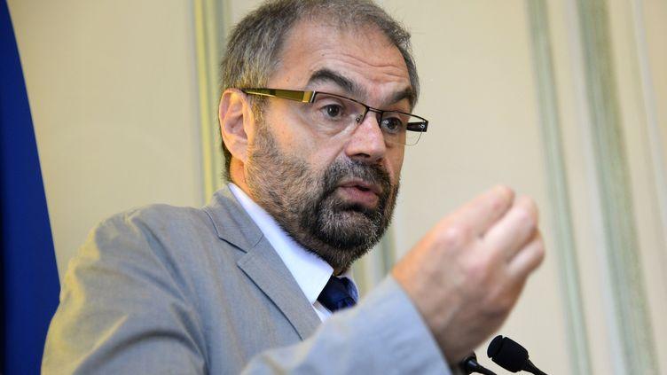 François Chérèque, président de l'Agence du service civique entre 2014 et 2016, à Paris, le 11 juillet 2014. (BERTRAND GUAY / AFP)
