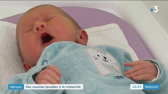Normandie : des couches lavables à la maternité