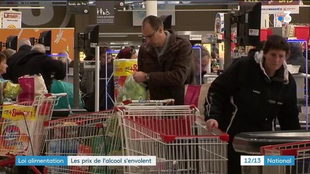 Loi alimentation : les prix de l'alcool grimpent de 3,2%