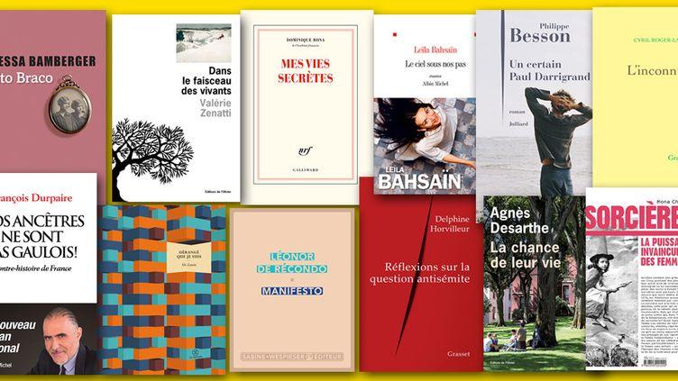 Les 6 romans et 6 essais en lice pour le Prix France Télévisions 2019