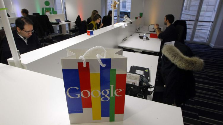 Les bureaux de Google France lors de leur inauguration, le 6 décembre 2011, à Paris. (JACQUES BRINON / AP / SIPA)