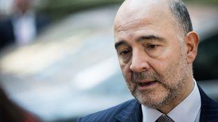 Pierre Moscovici à Bruxelles (Belgique), le 7 décembre 2015. (AURORE BELOT / AFP)