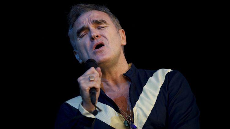 (Morrissey en concert à Dover, dans le Delaware, le 19 juin dernier © REUTERS/Mark Makela)