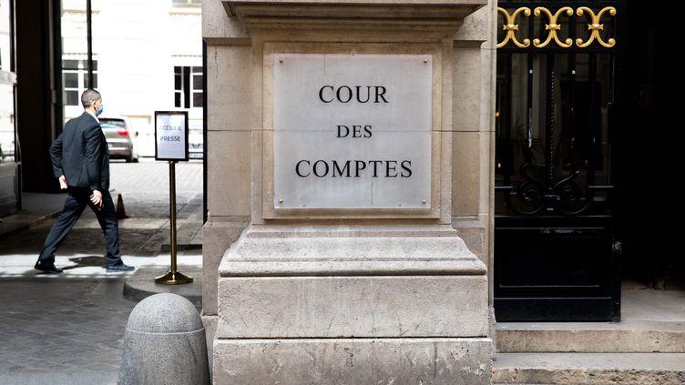 La Cour des comptes à Paris le 30 juin 2020. (CHRISTOPHE MORIN / MAXPPP)