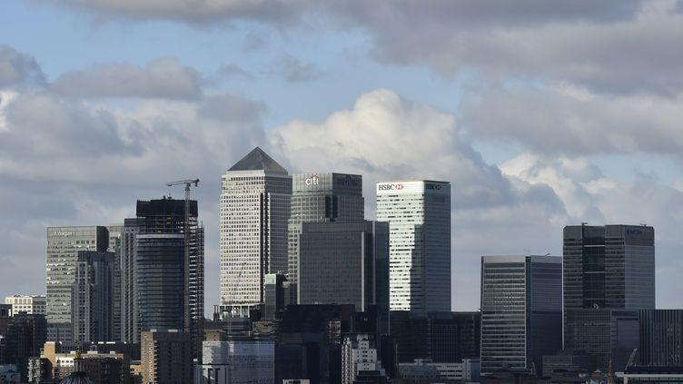 Le quartier des affaires de Londres (Royaume-Uni), le 15 février 2016. (REUTERS)