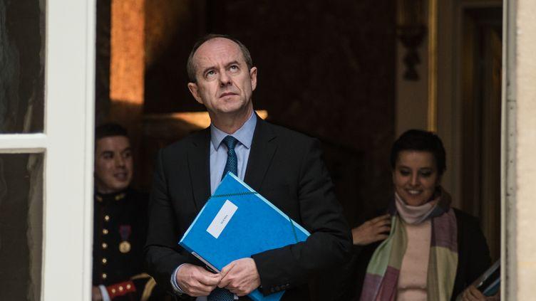 Jean-Jacques Urvoas, le ministre de la Justice, le 18 février2016 à Paris. (YANN KORBI / CITIZENSIDE.COM / AFP)