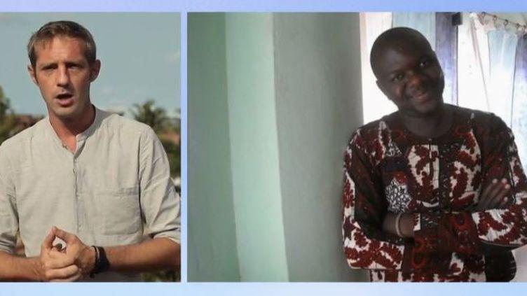 Deuxtouristes français ont disparu au Bénin. (FRANCE 2)