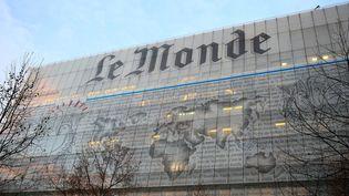 """Les locaux dujournal """"Le Monde"""", à Paris, le17 janvier 2014. (MAXPPP)"""