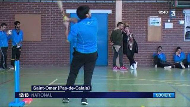Pas-de-Calais : des réfugiés font revivre le cricket