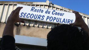 Le local du Secours populaire, à Hayange (Moselle), le 27 septembre 2016. (MAXPPP)
