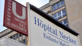 L'hôpital Necker, à Paris (illustration). (LIONEL BONAVENTURE / AFP)