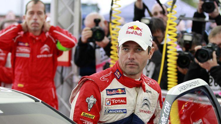 Le nonuple champion du monde, Sébastien Loeb
