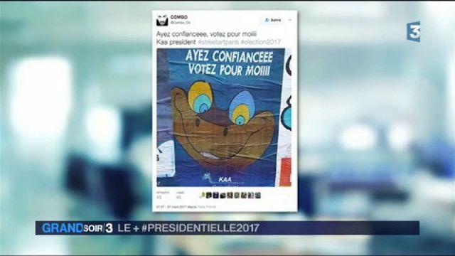 Le + #Presidentielle 2017 : les artistes inspirés par la campagne