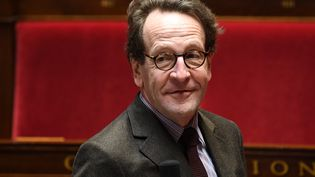 Le président du groupe LREM Gilles Le Gendre lors d'une séance de questions au gouvernement, le 19 février 2020 à l'Assemblée nationale. (ALAIN JOCARD / AFP)