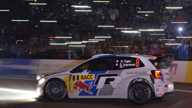 Ogier (Volkswagen Polo WRC) illumine la Catalogne (BILDAGENTUR KR?LING / BILDAGENTUR KR?LING)
