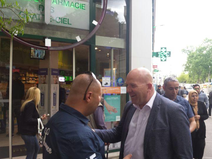 Bruno Bonnell, candidat aux législatives dans la 6e circonscription du Rhône (Claude Cordier)