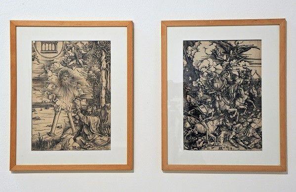 Pièces appartenant à la série l'Apocalypse d'Albrecht Dürer, vers 1797-1798 - Bois  (JL Bouchier, BmL)