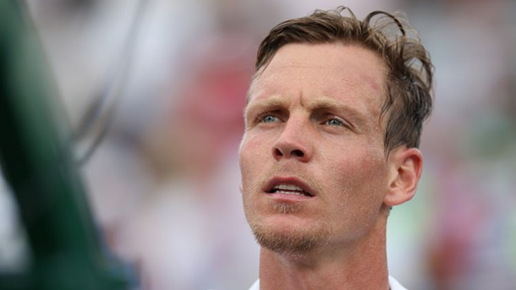 Tomas Berdych (CLIVE BRUNSKILL / GETTY IMAGES NORTH AMERICA)