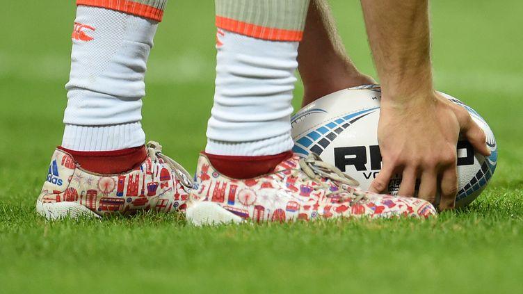 Quelles seront les meilleures chaussures pour les joueurs de rugby du Racing 92 vendredi soir à la U-Arena de Nanterre ? (ANDREAS GEBERT / DPA)