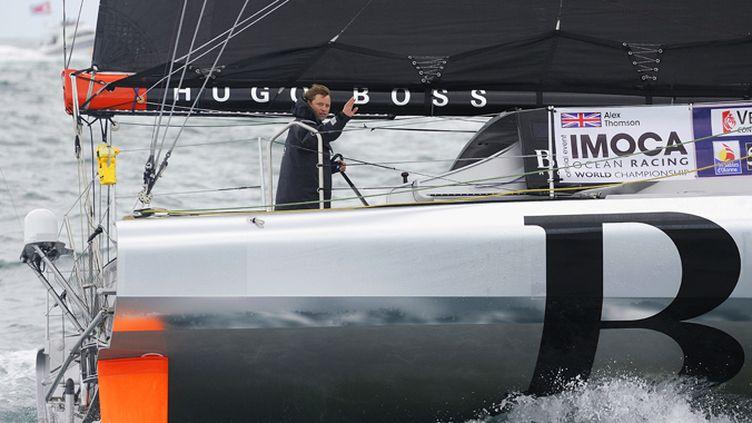 Alex Thomson (Hugo Boss) sur le Vendée Globe