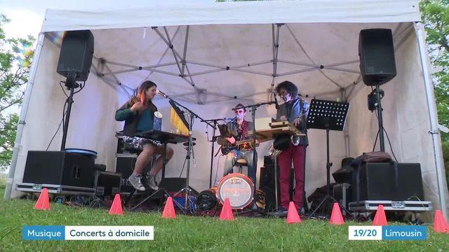 Concerts chez l'habitant en Corrèze