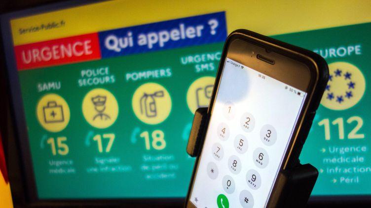 Les numéros d'urgence ont été l'objet d'une panne un peu partout sur le territoire français. (BRUNO LEVESQUE / MAXPPP)
